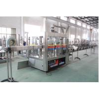 15000 BPH Carbonated Water Filling Machine / Production Line Commercial For Fruit Drink Manufactures