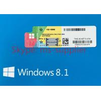 Online Activation Globally Windows 8.1 Pro Pack OEM French / Japanese Package Manufactures