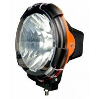 6000K ABS Black HID Driving Light Striped flood heavy duty work light for Cars Manufactures