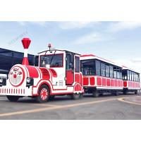 Amusement Park / Shopping Mall Tourist Train Rides 11.3m Long 3m Width Manufactures