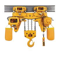 FEC Electric 10 Ton Chain Hoist Without Trolley For Mining Industry Manufactures