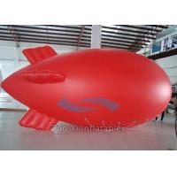 Quality Fully Customizable Helium Blimp Zeppelin Air Balloon With Silk Printing 0.18mm PVC for sale