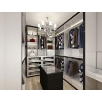 Simple design wooden walk-in closet for bedroom living room cheap folding cupboard wardrobe Manufactures