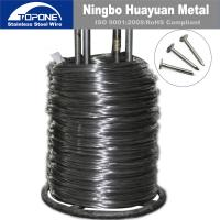 China 2.5 Mm Stainless Steel Nail Wire Cold Drawn Steel Wire For Nail Making on sale