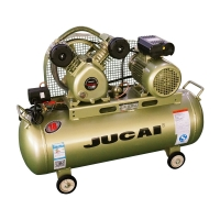 Industrial Electric Reciprocating Piston Jucai Air Compressor 2 Hp 1.5kw 60L Manufactures