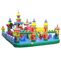 Tarpaulin Inflatable Marketing Products PVC Inflatable Children Park Manufactures