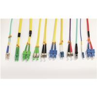 LSZH Single Mode Fiber Optic Patch Cord SC FC LC ST Type With Custom Length Manufactures