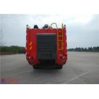 Quality 16 Forward Gears Fire Rescue Vehicles , HALE Pump 6000L/Min Airplane Fire Truck for sale
