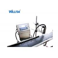 Manufacturer Micro Character Batch No Industrial Coding Machine , Continuous