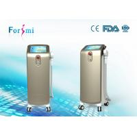 Verticle strong cooling diode laser hair removal machine with 10L water tank Manufactures