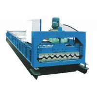 Galvanized Sheet Metal Roll Forming Machine , Double Layer Roll Forming Machine Manufactures