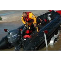 Quality Black Long Military Inflatable Boats , 8 Person Motorized Inflatable Boat for sale