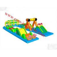 New desgin adult inflatable obstacle course for sale Manufactures