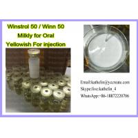 Water Based Oral Winstrol 50 Oil Based Injection Winn 50 For Bodybuilding Manufactures