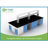 Durable Pharmacy Science Lab Benches With Epoxy Worktop Chemical Resistance Manufactures