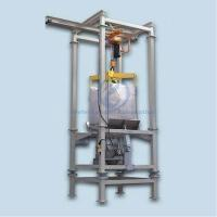 High Speed Jumbo Bag Unloading System For Magnetic Materials Industry Manufactures