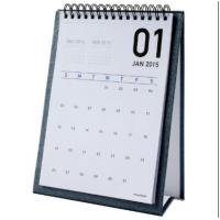 Table Monthly Easel Desk Calendar Sticky Notes For Weekly / Daily Planner Manufactures