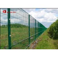 Anti Climb PVC Coated Wire Mesh Fence Panels 1530mm 1830mm 2030mm For Multi Color Manufactures