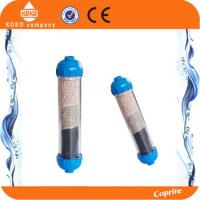 10 inch Clean Plush Copper 3 Stage Water Filter Cartridges Whole House For Residential Water Treatment Manufactures