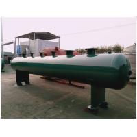 Air Compressed Natural Gas Storage Tank , Vertical Industrial Storage Tanks Manufactures