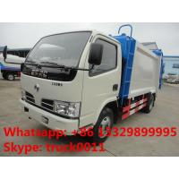 factory sale best price Dongfeng duolika 5m3 garbage compactor truck,hot sale 2017s new 5m3 garbage compacted truck Manufactures