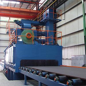 Sa2.5 Roller Conveyor Abrasive Blasting Equipment Manufactures