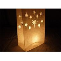 "Buy cheap Paper Packaging Bags / Luminary Lantern Bags Path Lighting 6""Width x 10""Height x from wholesalers"