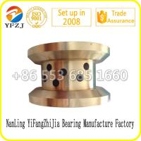 Buy cheap OEM Mechanical Parts Flange bushing Flange Bronze Bearing Flange Brass Bushing from wholesalers