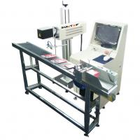 30W CO2 Laser Marking Machine for Production Date Marking , Industrial Laser Engraver Manufactures