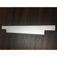 CNC Machining Processing / Sand Blasted Natural Anodized Aluminum Profile for Drawer Handle Manufactures