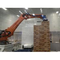 Quality Low Failure Rate Automatic Robotic Bag Palletizer 8 KW 3000Kg - 4000Kg for sale