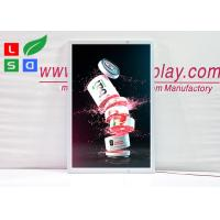 Ultra Thin LED Outdoor Light Box Swing Open Lockable For Shop Image Display Manufactures