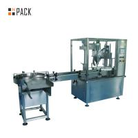 Buy cheap 2 Nozzles Automatic Oil Filling Machine 30ml E - Liquid Bottle Filling Capping from wholesalers