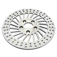 Quality Super Glide Silver 292mm Front Brake Rotors With High Braking Performance for sale