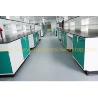 Black color laboratory bench top resist strong alkalies laboratory furniture