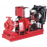 China Cast Iron High pressure 50kw Diesel Engine water pump for fire fighting Single stage Stainless on sale