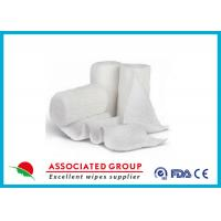 China Stretch Cotton Gauze Bandage Rolls , X Ray Detectable Bandages on sale