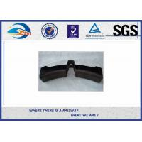 Railway Friction Composite Brake Rail Pad / Brake Shoe For Heavy Duty Truck Manufactures