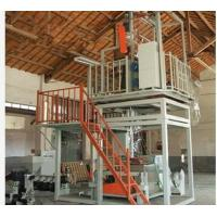 Plastic Extrusion Process Plastic Film Manufacturing Machines 600-1000mm Width Manufactures
