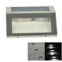 2 LED Solar Powered Deck Stair Lights 4500K - 5500K Waterproof For Garden Yard Manufactures
