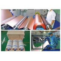 70um Electrolytic PCB Copper Foil 3 / 6 Inch Roll Internal Diameter Manufactures