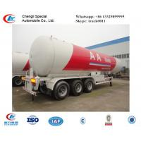 CLW factory suppiy biggest 25.2t 60CBM 60000l 3 axles 12 wheels LPG gas trailer  for sale, ASME standard lpg gas trailer Manufactures