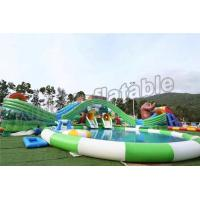 Quality Fun Outdoor Amusement Park Inflatable Water Parks For Adults And Childrens for sale