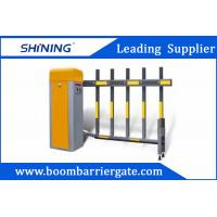 6S 220v Smart Traffic Barrier Gate , Retractable Paking Boom Barriers Manufactures
