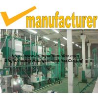 small grain roller mill maize flour processing line corn flour machinery Manufactures