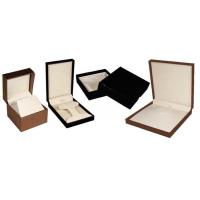 Quality Modern Design Individual Leather Cardboard Jewelry Display Boxes With Lids for sale