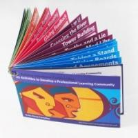 Quality Portable Ring Binding full color Softcover Book Printing with CIS or C2S glossy for sale