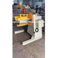 Quality Manual Hydraulic Decoiler / Uncoiling Machine Without Coil Car 5.1 * 1.7 * 1.7m for sale