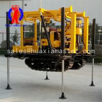 crawler hydraulic core drilling rig XYD-130/diesel power 130M well drill machine suitable for different type of terrain Manufactures