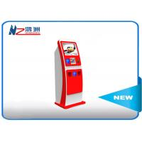 Electronic Multi Interactive Touch Screen Kiosk LED Digital Signage , Red Manufactures